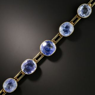 Imperial Russian Sapphire Bracelet