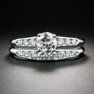 Jabel Vintage Diamond Wedding Set
