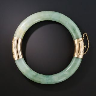 Jade Bangle Bracelet - 2