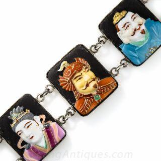 Japanese Toshikane Bracelet in Silver