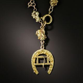 Klondike Gold Nugget Watch Chain/Necklace