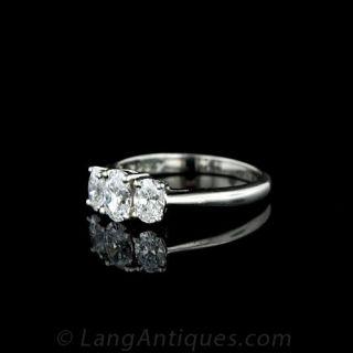 Kwiat Three Stone Diamond Ring