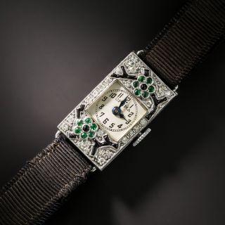 Ladies Optima Deco Diamond Watch - 2