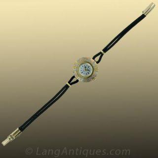 Ladies Bulova Tricolor Gold Watch