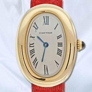 Ladies Cartier 'Baignoire Watch