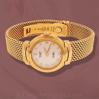 Ladies Gold Rolex Cellini Watch