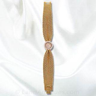 Ladies Gubelin Diamond Bracelet Watch