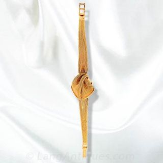 Ladies Spitzer and Furman Ribbon Watch