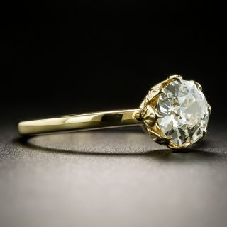 Lang Collection 1.01 Carat Diamond Engagement Ring - GIA J VS1