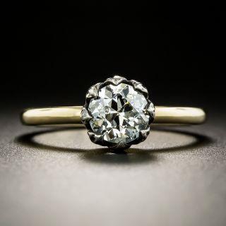 Lang Collection 1.06 Carat European-cut Diamond Solitaire Engagement Ring - GIA J SI2 - 2