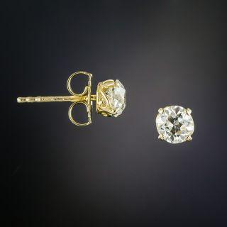 Lang Collection 1.08 Carat Diamond Stud Earrings - GIA - 1