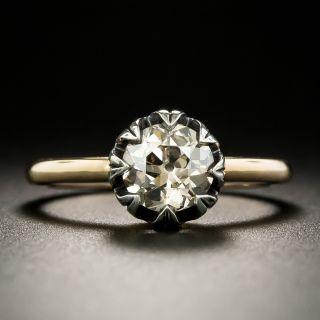 Lang Collection 1.09 Carat Fancy Brown Diamond Ring - GIA - 1
