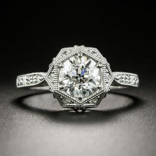 Lang Collection 1.19 Carat Diamond Engagement Ring - GIA F I1 - 3