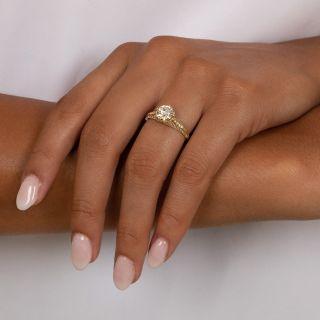 Lang Collection 1.30 Carat Diamond Engagement Ring - GIA K SI1