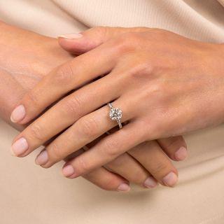 Lang Collection 1.54 Carat European-Cut Diamond Ring - GIA E VS2