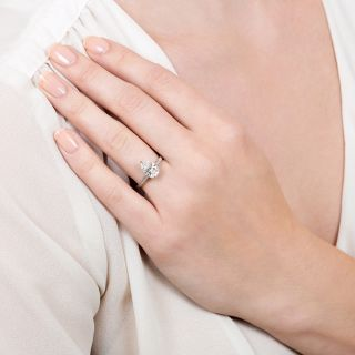 Lang Collection 1.54 Carat Pear-Cut Diamond Engagement Ring - GIA E SI2