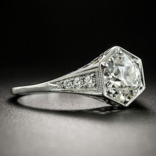 Lang Collection 1.59 Carat Diamond Engagement Ring - GIA K VS2