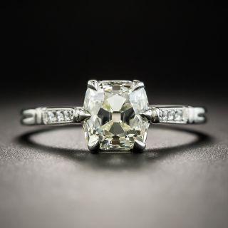 Lang Collection 1.77 Carat Antique Cushion-Cut Diamond Ring - GIA O-P SI1 - 1