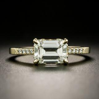 Lang Collection 1.80 Carat Emerald-Cut Diamond Engagement Ring - GIA L SI1 - 3