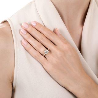 Lang Collection 2.01 Carat Diamond Engagement Ring - GIA J VS2