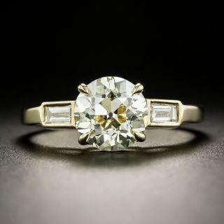 Lang Collection 2.02 Carat Diamond Engagement Ring - GIA O-P VS2 - 1