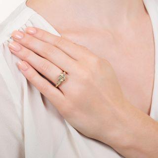 Lang Collection 2.02 Carat Diamond Engagement Ring - GIA O-P VS2