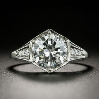Lang Collection 2.13 Carat Diamond Engagement Ring  - GIA D VS2 - 2