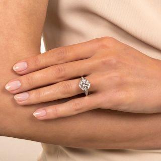 Lang Collection 2.13 Carat Diamond Engagement Ring  - GIA D VS2