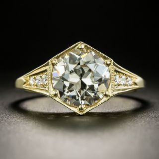 Lang Collection 2.14 Carat Diamond Engagement Ring - GIA M VS2 - 2