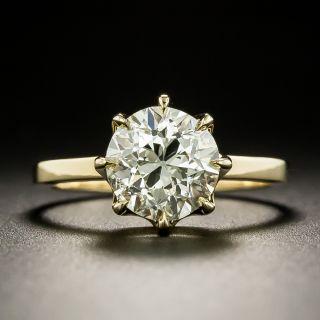 Lang Collection 2.29 Carat Diamond Engagement Ring - GIA M I1 - 2