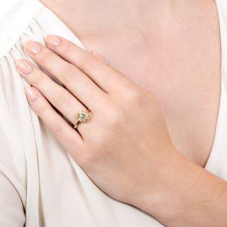 Lang Collection 2.29 Carat Diamond Engagement Ring - GIA M I1