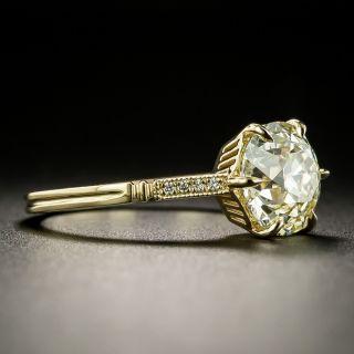 Lang Collection 2.29 Carat European-Cut Diamond Engagement Ring - GIA N VS1