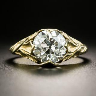 Lang Collection 2.45 Carat Art Nouveau Style Ring - 1