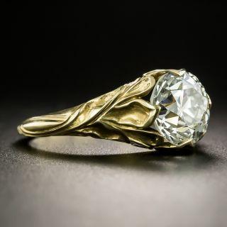 Lang Collection 2.59 Carat Art Nouveau Style Ring