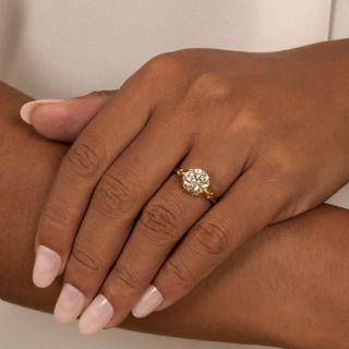 Lang Collection 2.59 Carat European-Cut Diamond Solitaire Engagement Ring - GIA