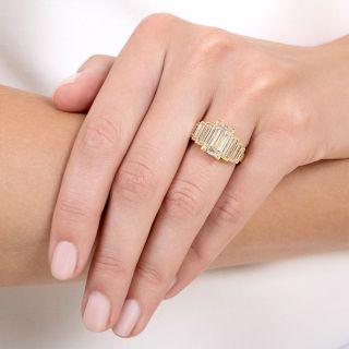 Lang Collection 2.85 Carat Emerald-Cut Diamond Diamond Ring - GIA L VS2