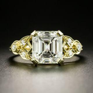 Lang Collection 2.91 Carat Emerald-Cut Diamond Ring - GIA K VS1 - 3