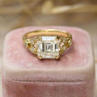 Lang Collection 2.91 Carat Emerald-Cut Diamond Ring - GIA K VS1