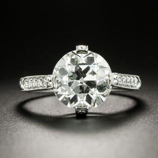 Lang Collection 3.09 Carat Diamond Engagement Ring - GIA J SI2 - 2