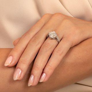 Lang Collection 3.09 Carat Diamond Engagement Ring - GIA J SI2