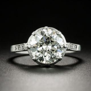 Lang Collection 3.12 Carat Diamond Engagement Ring - GIA K VS1 - 1