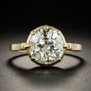 Lang Collection 3.21 Carat Diamond Engagement Ring - GIA - 1