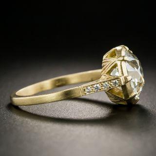 Lang Collection 3.21 Carat Diamond Engagement Ring - GIA