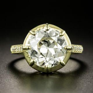 Lang Collection 4.09 Carat Diamond Engagement Ring - GIA - 2