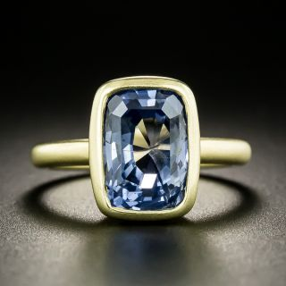 Lang Collection 6.73 Carat No-Heat Ceylon Sapphire Ring - 1