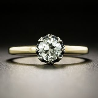 Lang Collection .69 Carat Diamond Solitaire Engagement Ring - GIA L VS2 - 1