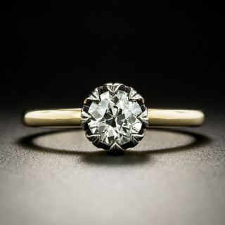 Lang Collection .75 Carat Solitaire Engagement Ring - GIA J SI2 - 1