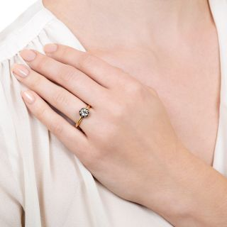 Lang Collection .75 Carat Solitaire Engagement Ring - GIA J SI2