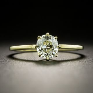 Lang Collection .79 Carat Diamond Solitaire Ring - 1