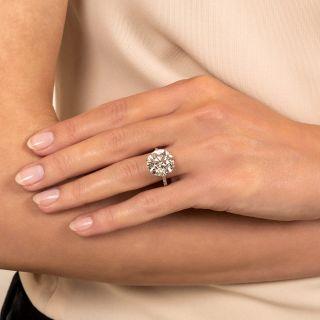Lang Collection 8.23 Carat Diamond Engagement Ring - GIA K VS1